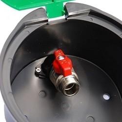 Arqueta con hidrante...
