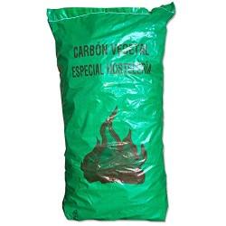 Carbón de encina saco 16 Kilos