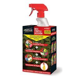 Triple acción insecticida...