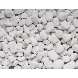 Piedra decorativa blanca...