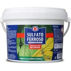 Sulfato ferroso para plantas