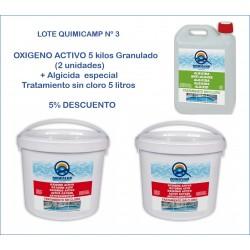 Lote Quimicamp 3, oxigeno...