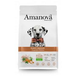 Amanova Puppy Medium Pollo...