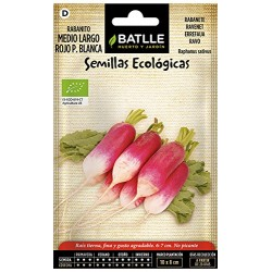 Semillas ecologica rabanito...