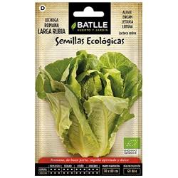 Semillas ecologica lechuga...